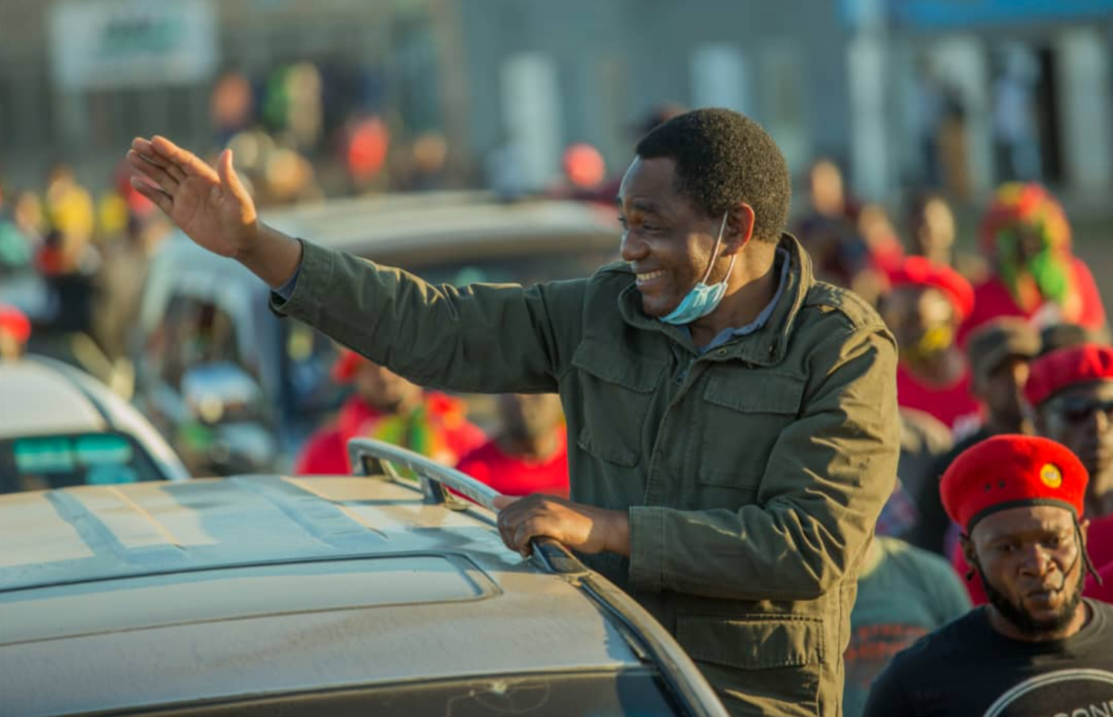 You are currently viewing Zambia's new president sacks military and police chiefs