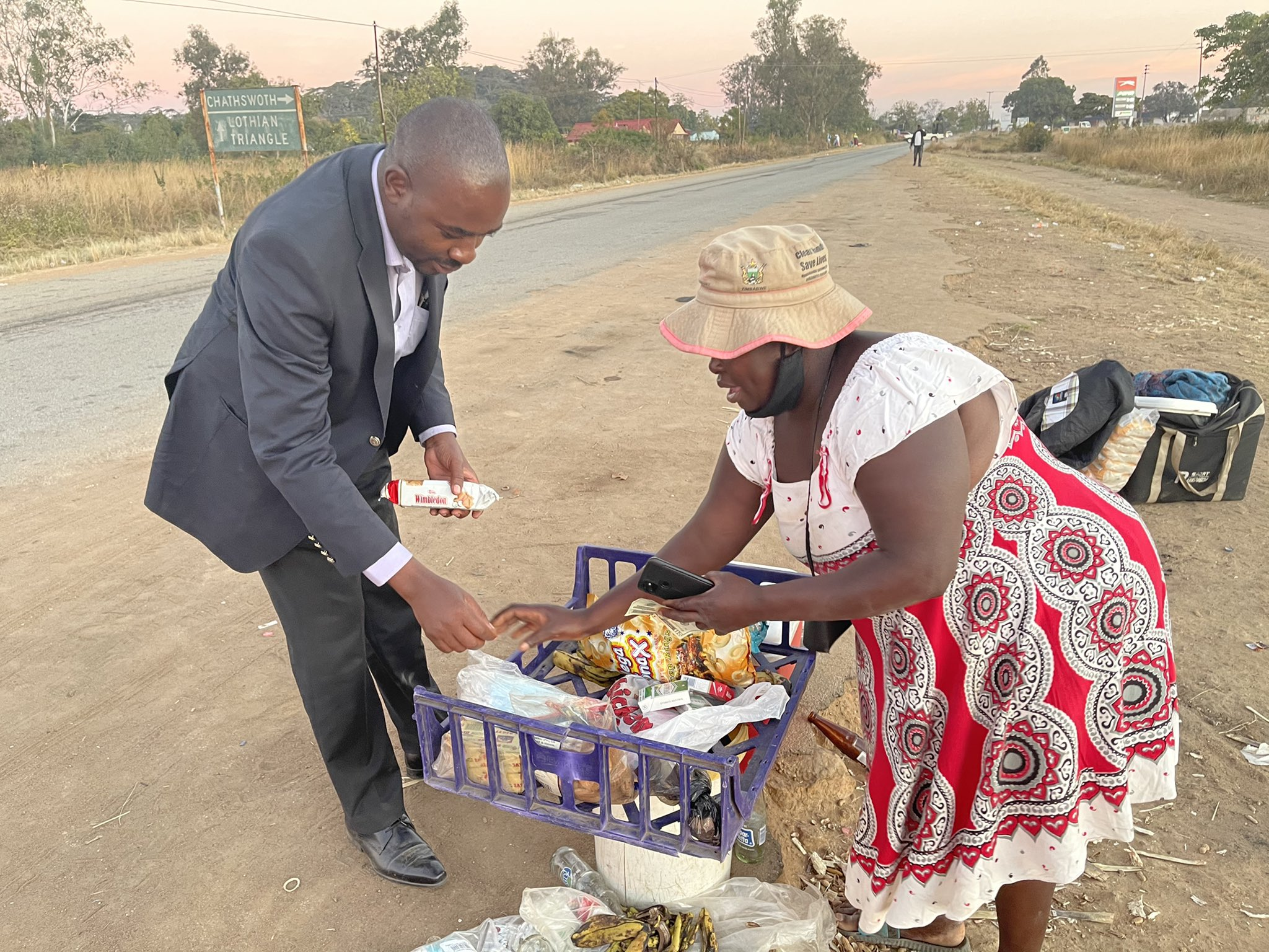 Read more about the article Voting Zanu PF is voting poverty says Chamisa