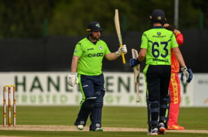 Read more about the article Ireland wallops Zimbabwe in third T20I
