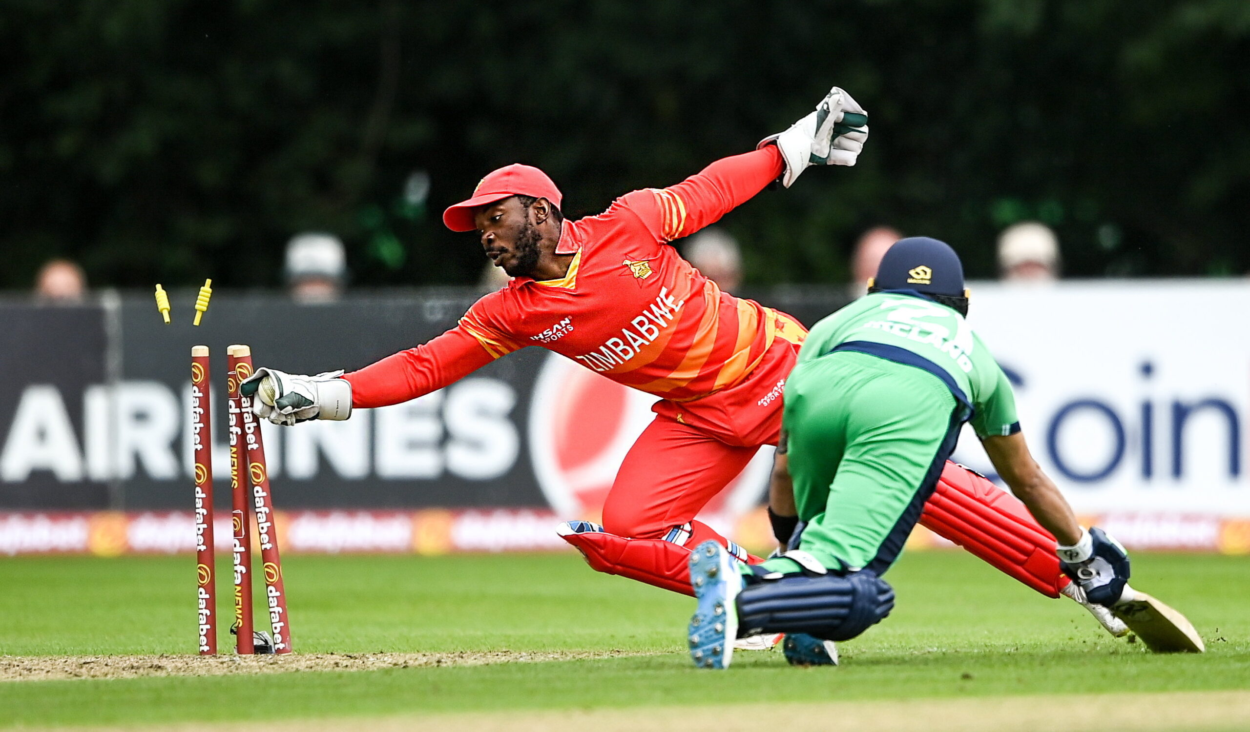Read more about the article Zimbabwe, Ireland share points after rain washes out second ODI