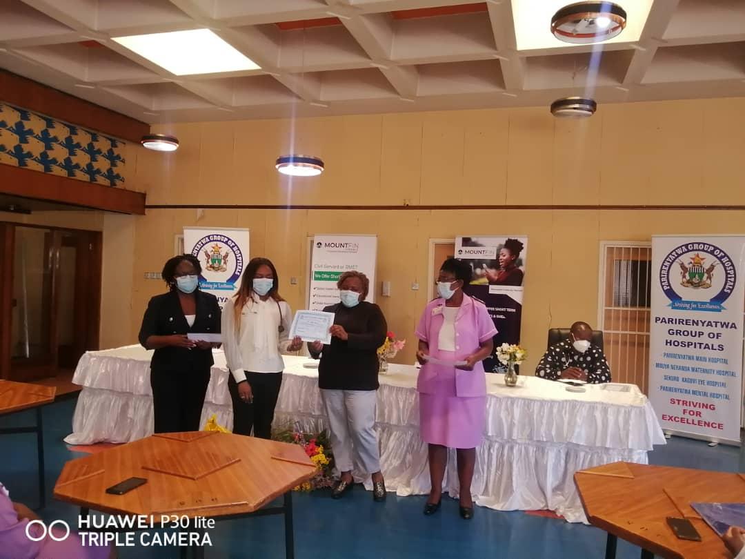 Read more about the article MountFin incentivizes Parirenyatwa nurses