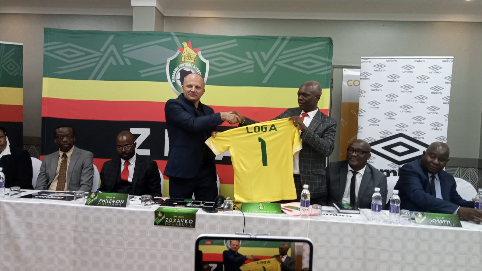 You are currently viewing ZIFA sack Warriors coach